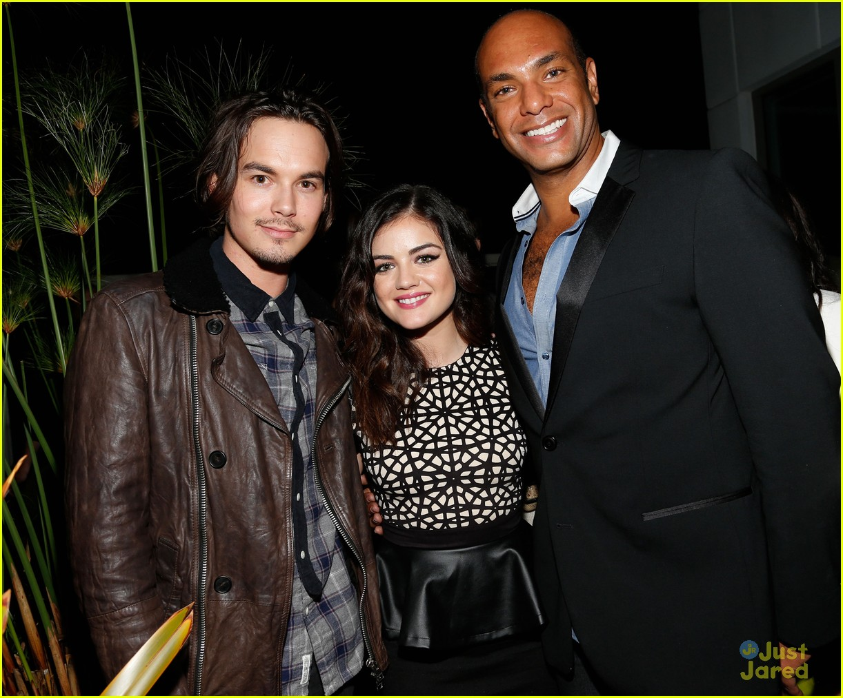 lucy hale nylon cover dinner 30