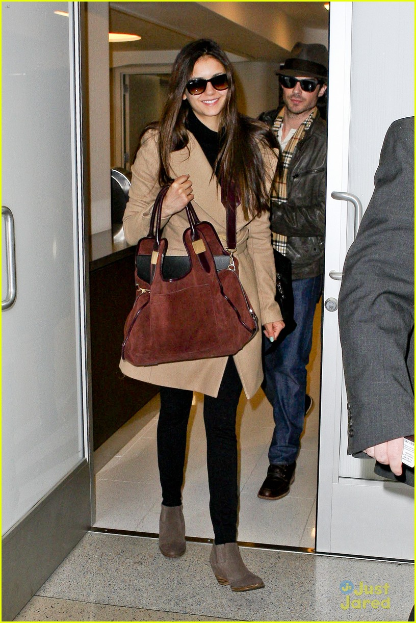 nina dobrev ian somerhalder lax china 06