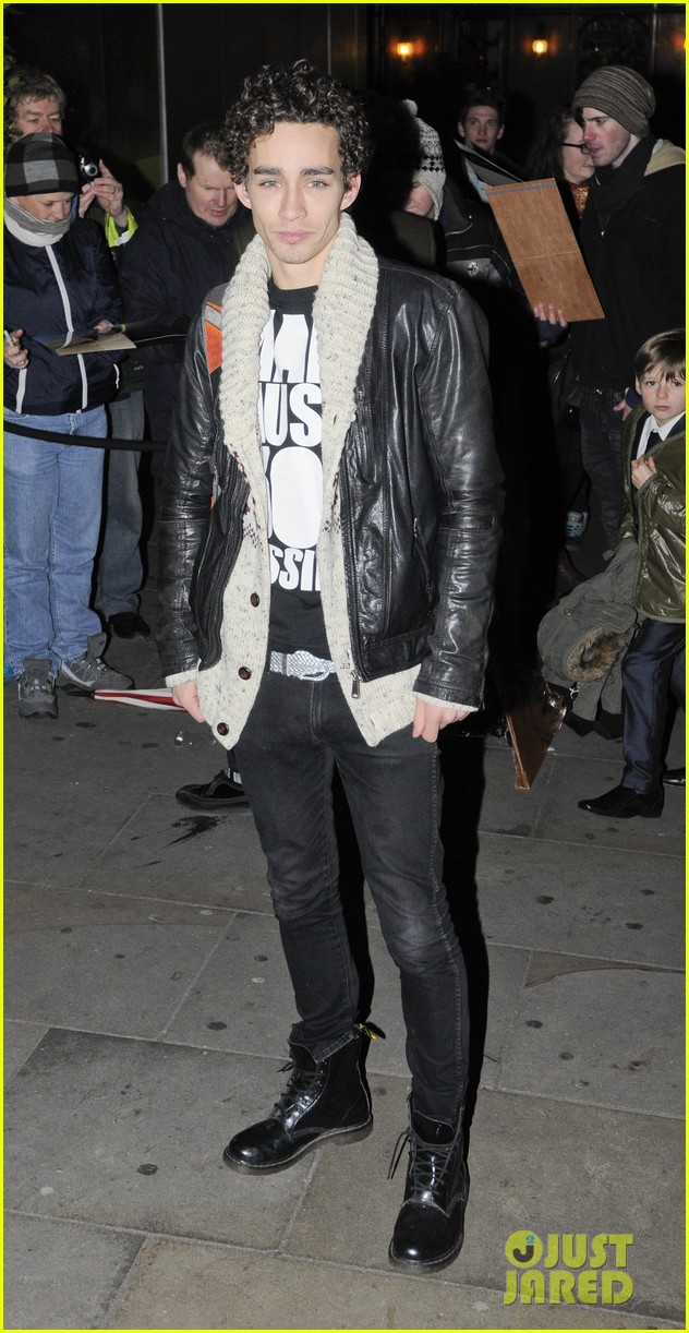 robert sheehan english national ballet christmas party 01