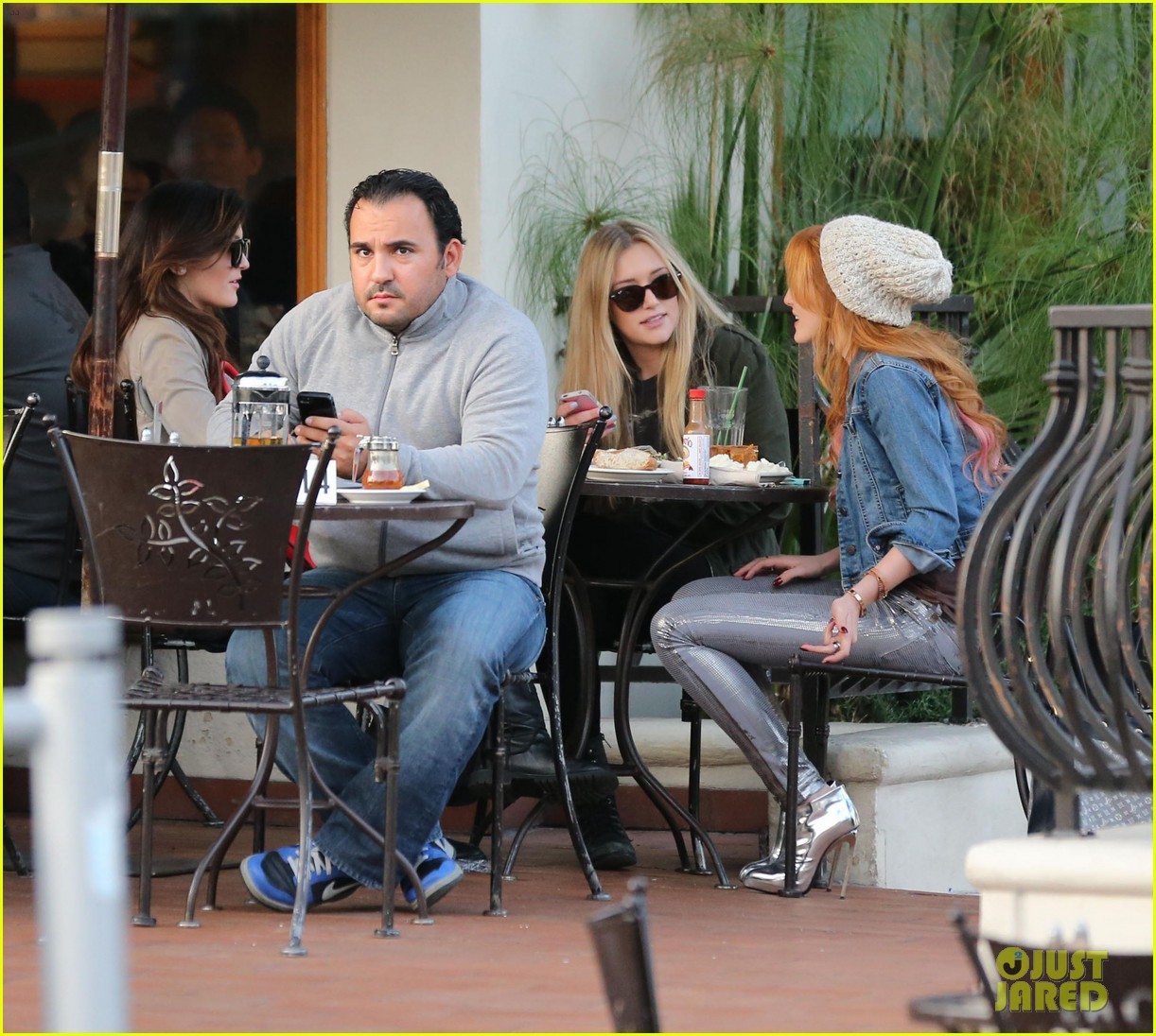 bela thorne kylie jenner lunch 04
