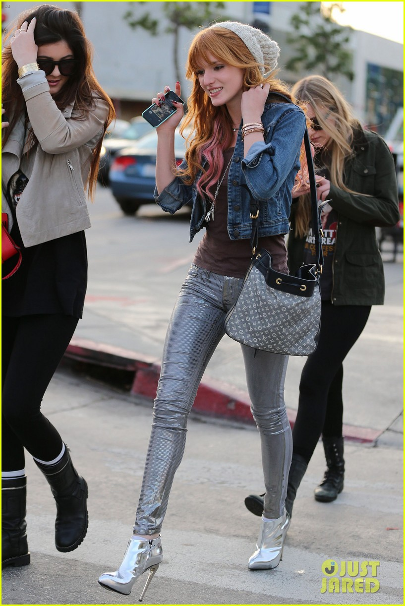bela thorne kylie jenner lunch 05
