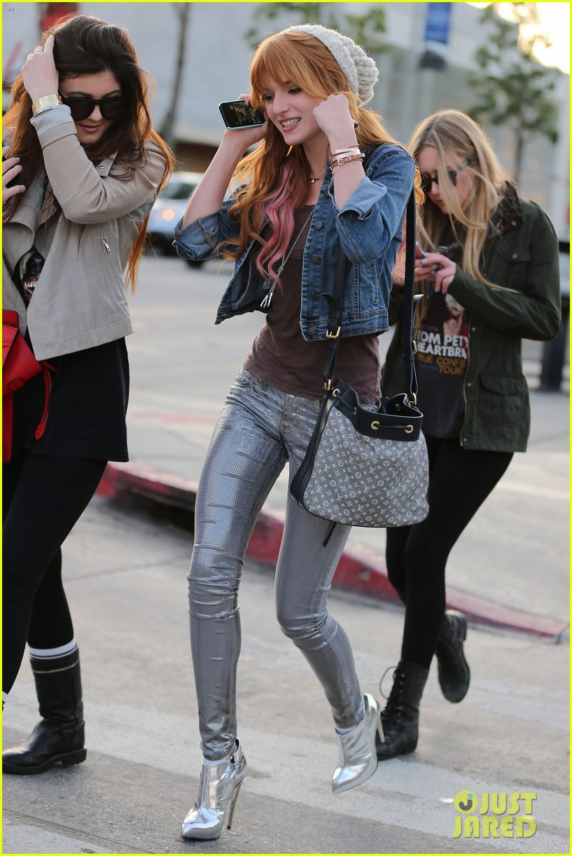 bela thorne kylie jenner lunch 11