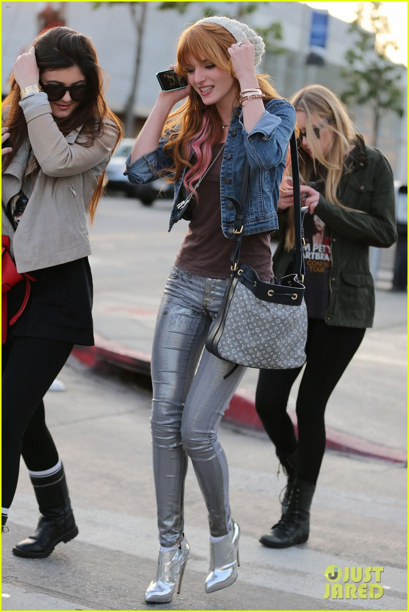 bela thorne kylie jenner lunch 12