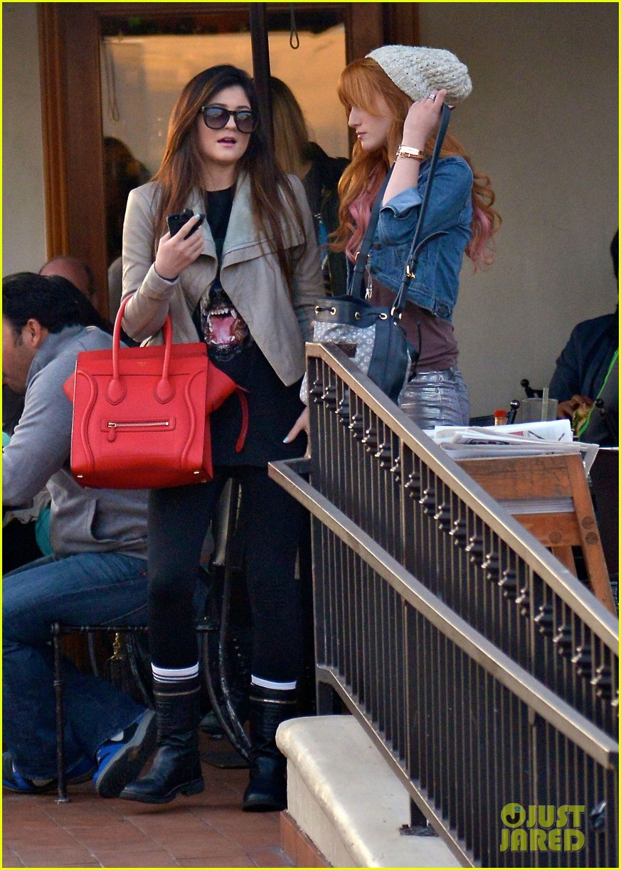 bela thorne kylie jenner lunch 29