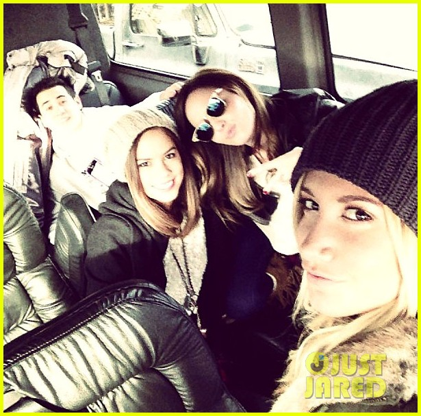 ashley tisdale christopher french road trip with friends 01