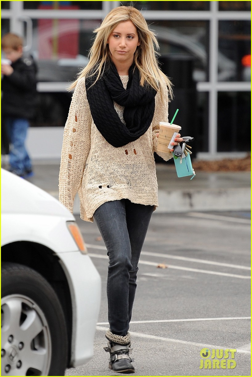 ashley tisdale starbucks studio city 11