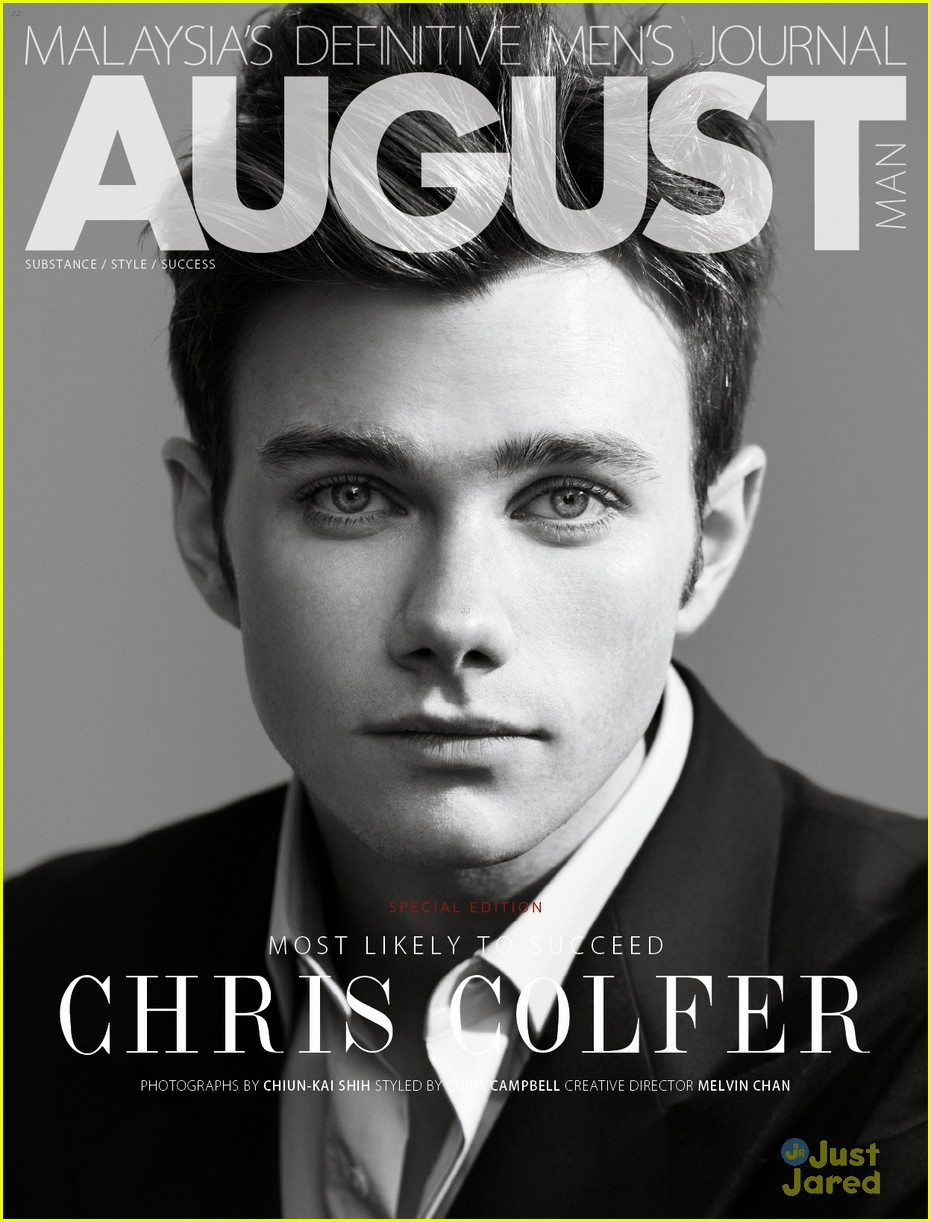 chris colfer august man 02