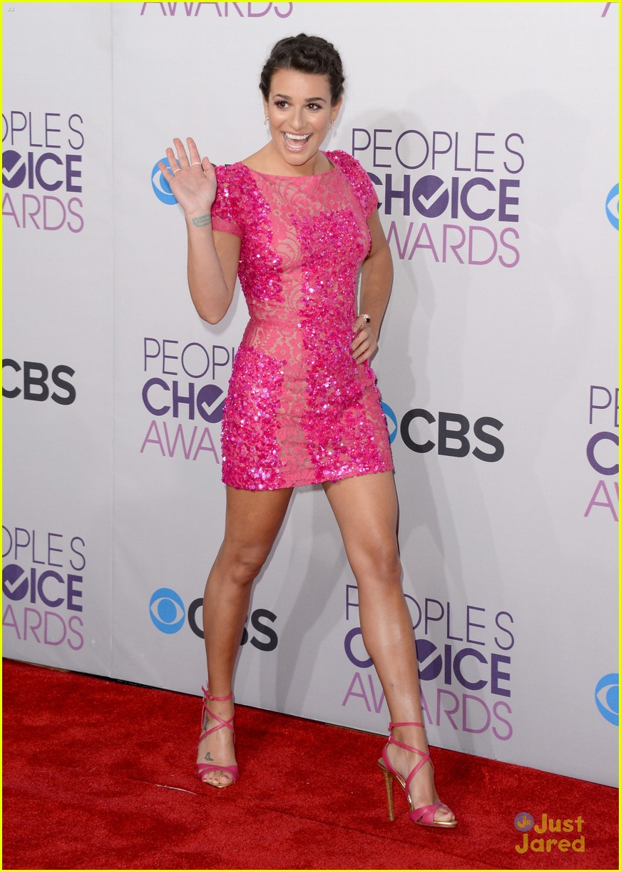 chris colfer lea michele pca 2013 winners 22
