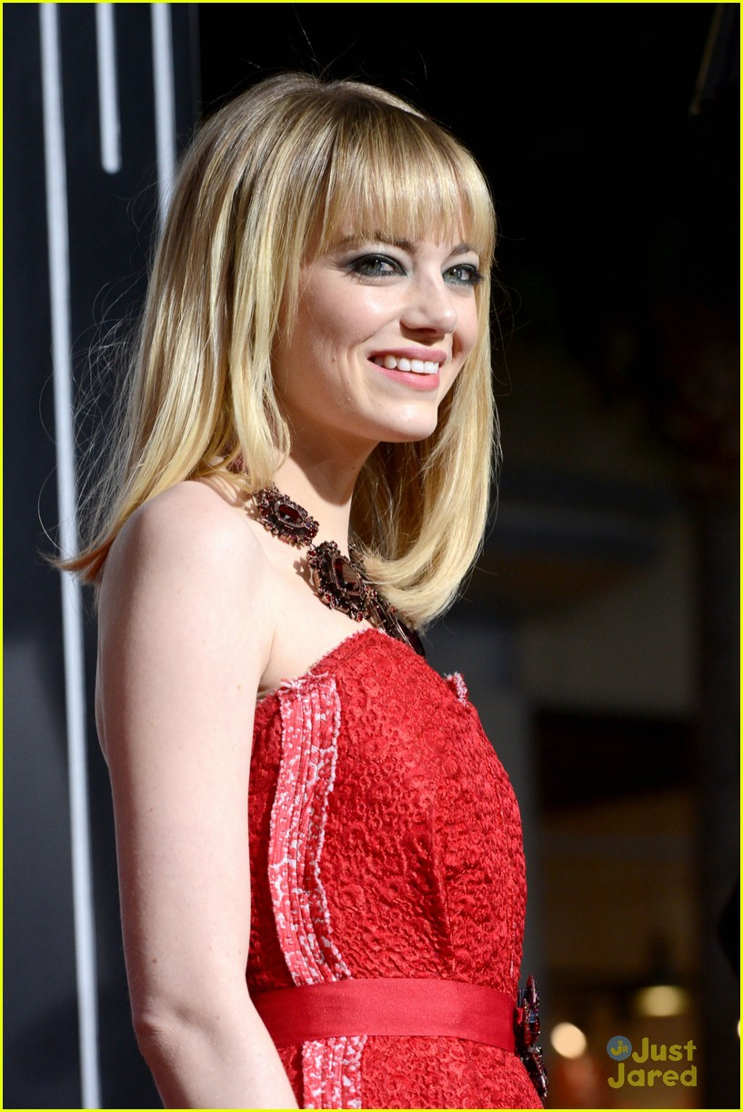 emma stone gangster premiere 03