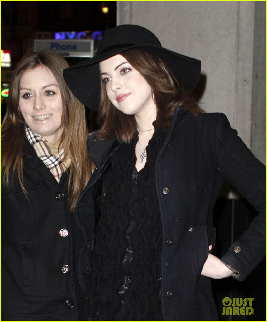liz gillies goofing off in nyc 05