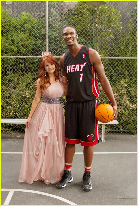 chris bosh guest star jessie 04