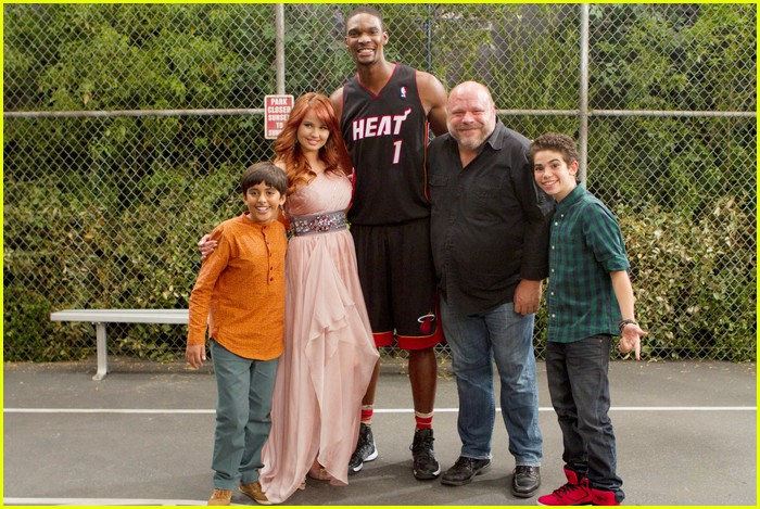 chris bosh guest star jessie 08