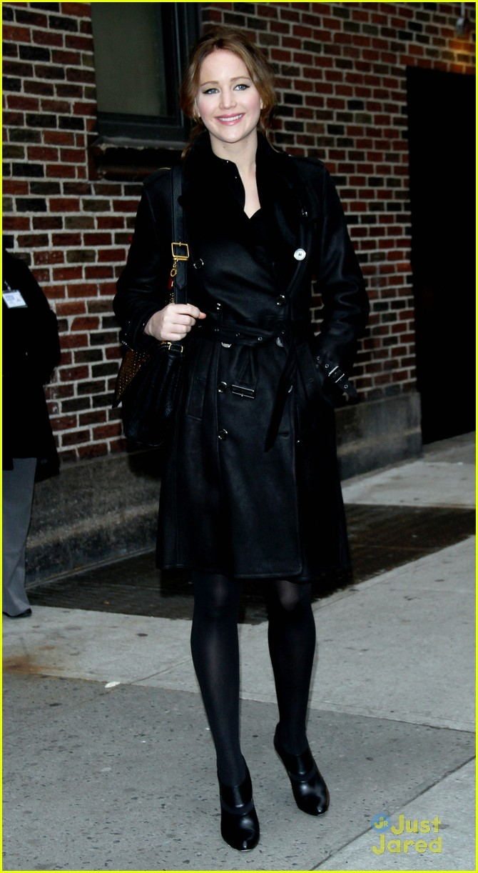 jennifer lawrence letterman 11