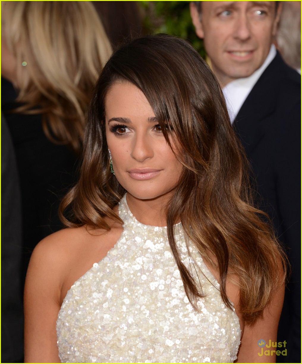 lea michele golden globes 01