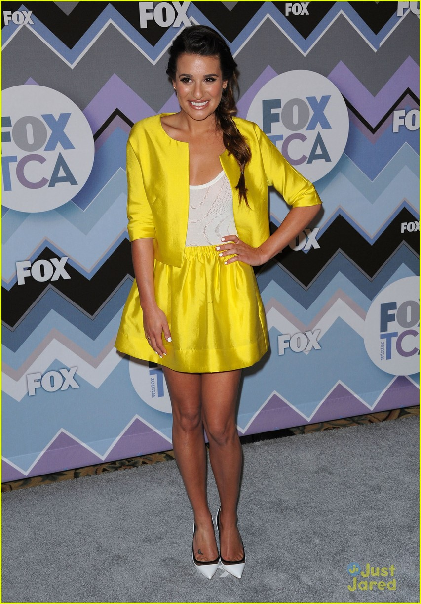lea michele melissa benoist fox tca party 20