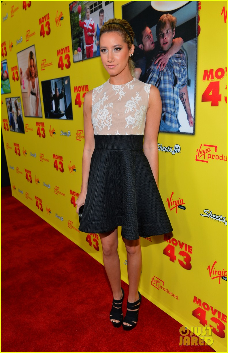 ashley tisdale movie 43 premiere 02