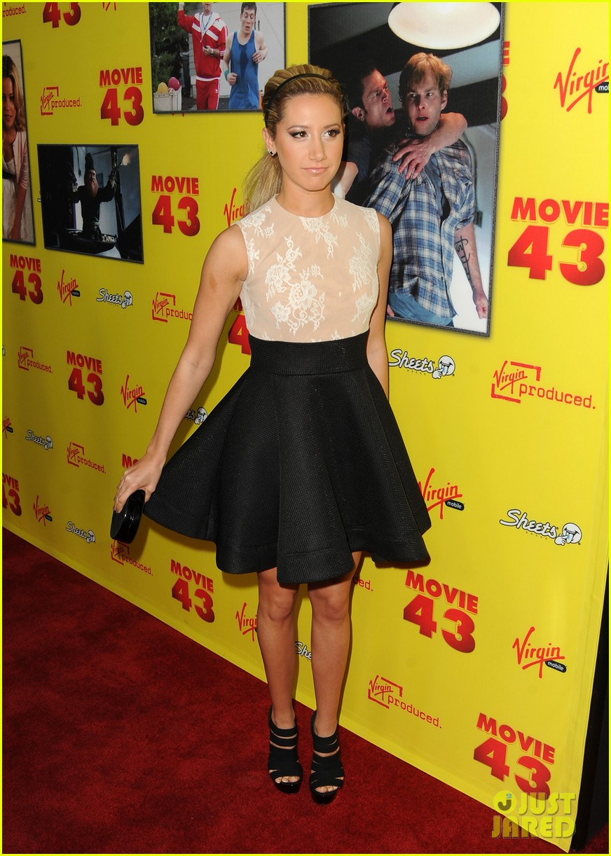 ashley tisdale movie 43 premiere 08