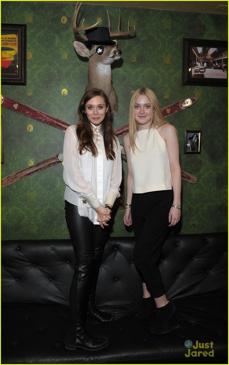 elizabeth olsen dakota fanning vgg interviews 09