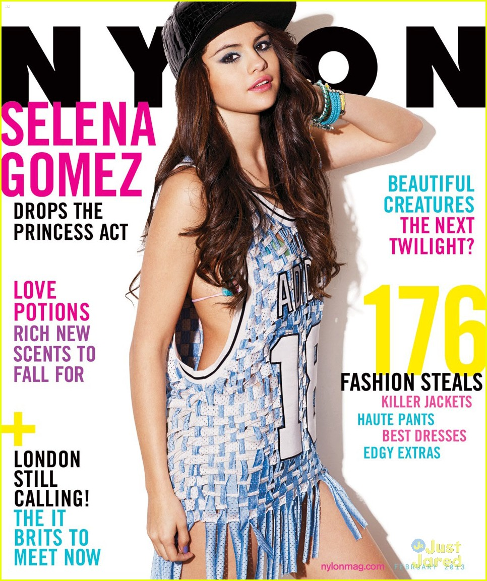selena gomez nylon feb 2013 cover 01