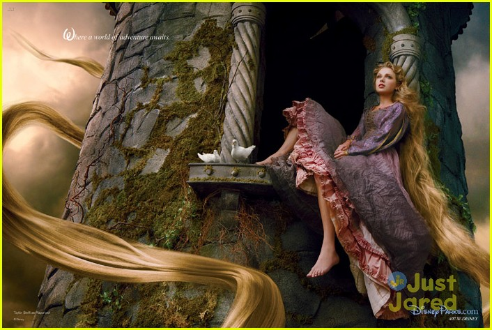 taylor swift rapunzel ad madrid 03