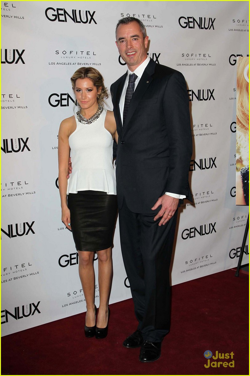 ashley tisdale genlux event 07