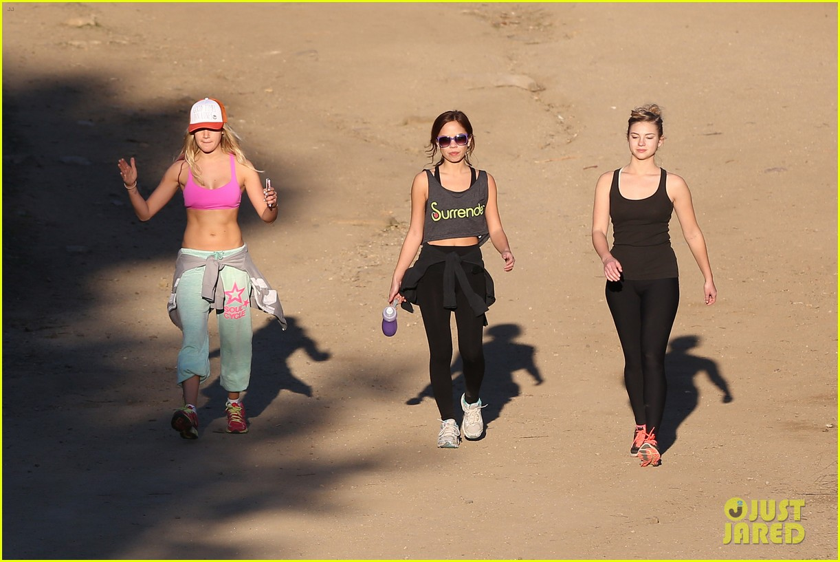 ashley tisdale allie gonino hiking buddies 27