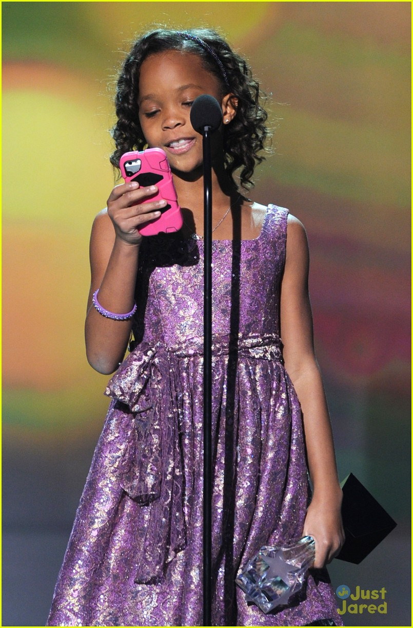 quvenzhane wallis critics choice 12