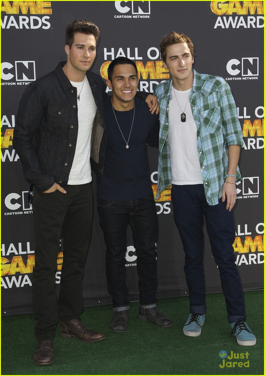 big time rush level up hall game awards 04