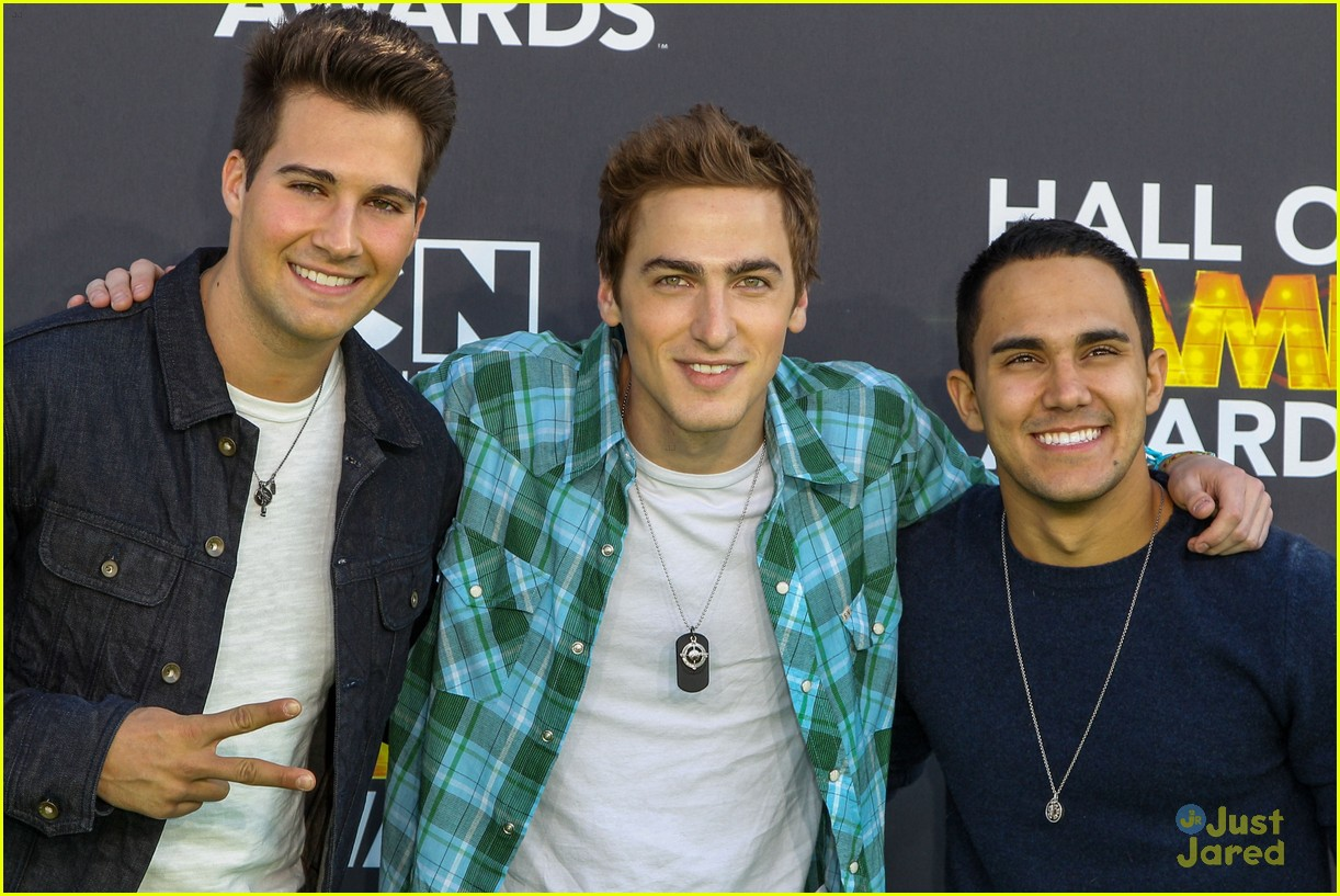 big time rush level up hall game awards 12