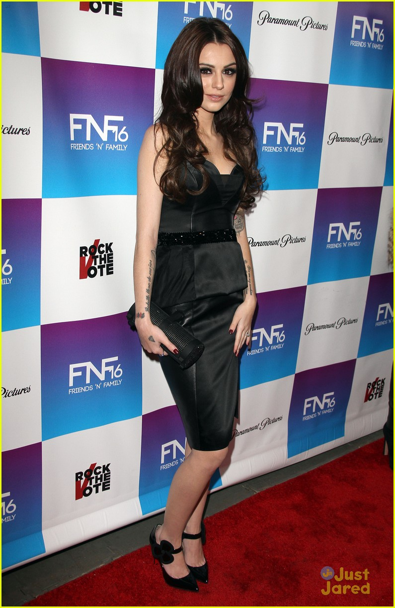 cher lloyd friends family pregrammy event 11