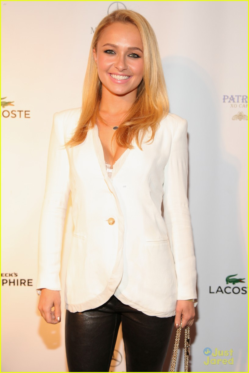 hayden panettiere lacoste party super bowl 15