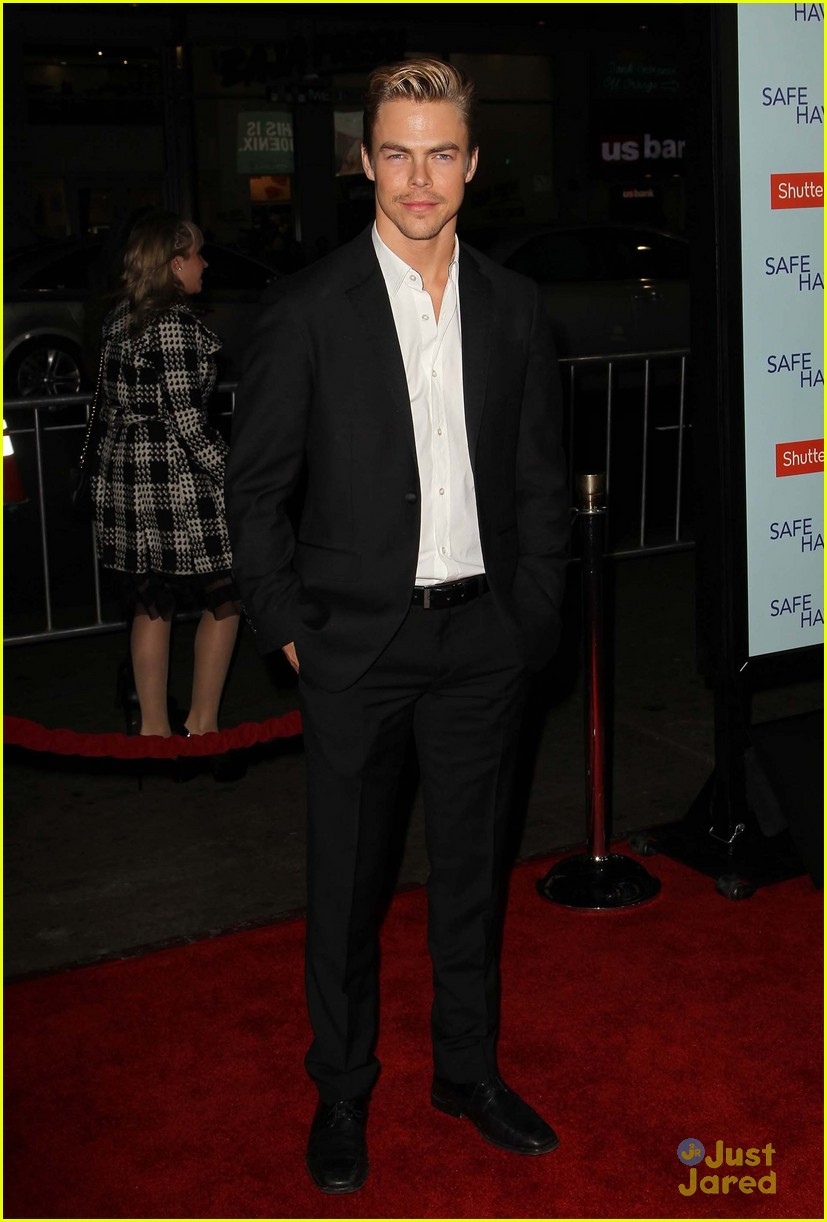 derek hough safe haven premiere 01