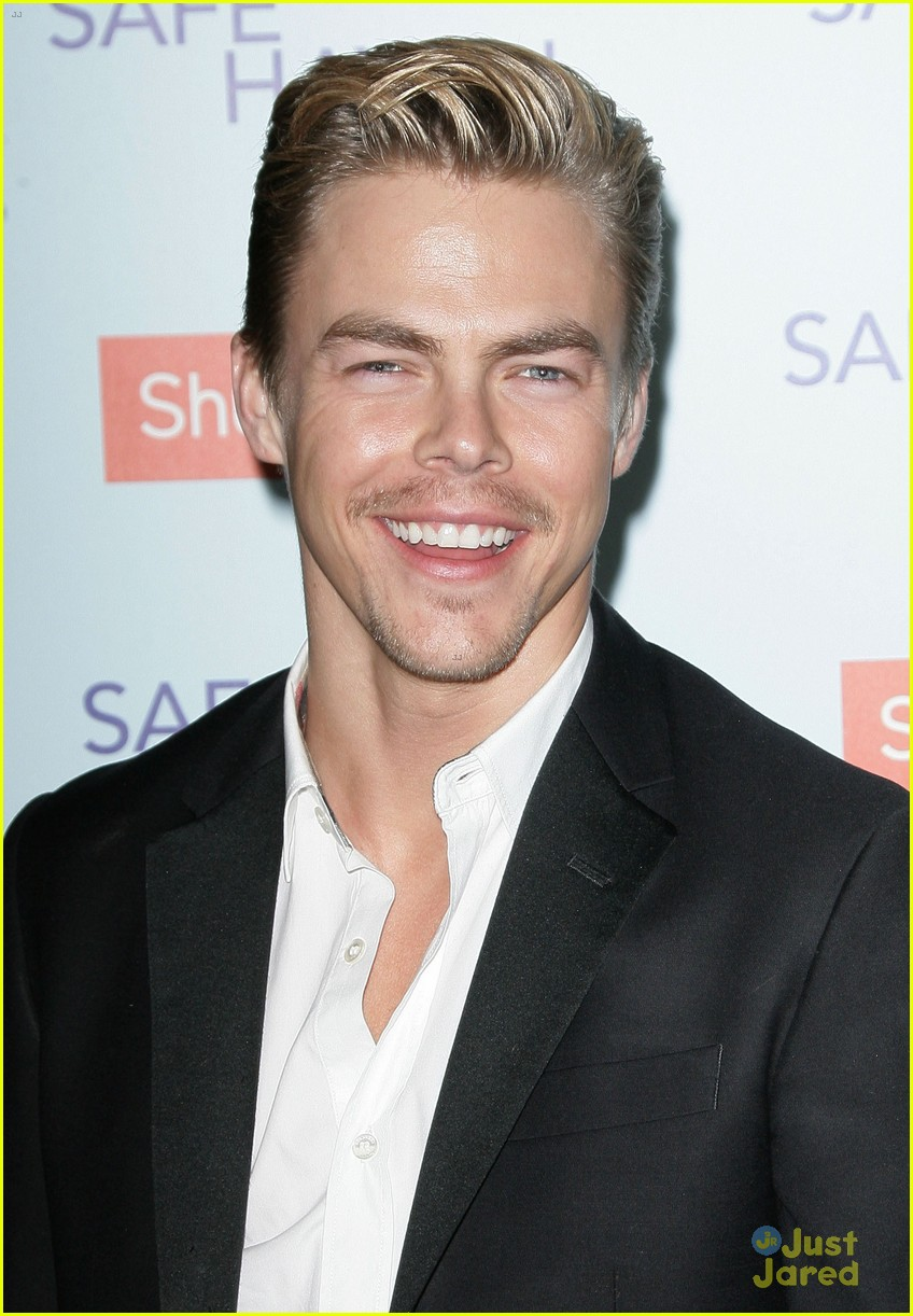 derek hough safe haven premiere 02