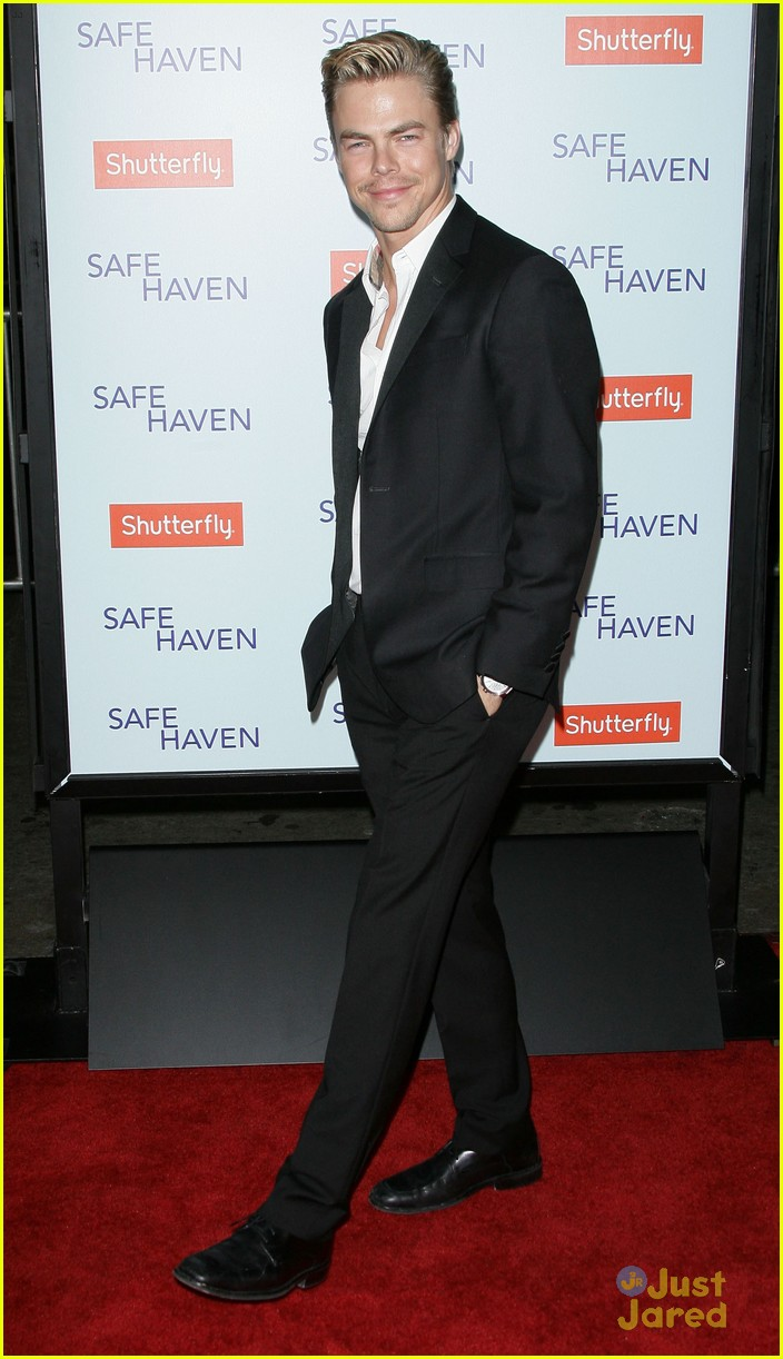 derek hough safe haven premiere 03
