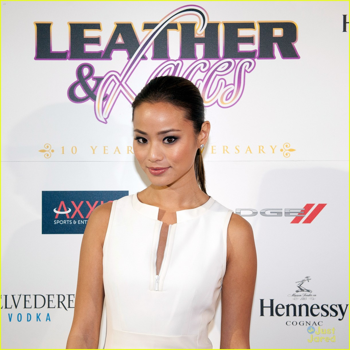 jamie chung leather laces sb party 01