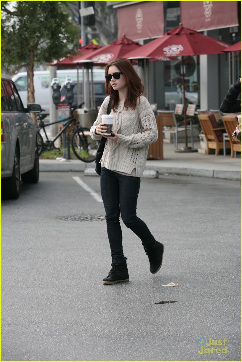 lily collins coffee bean 02