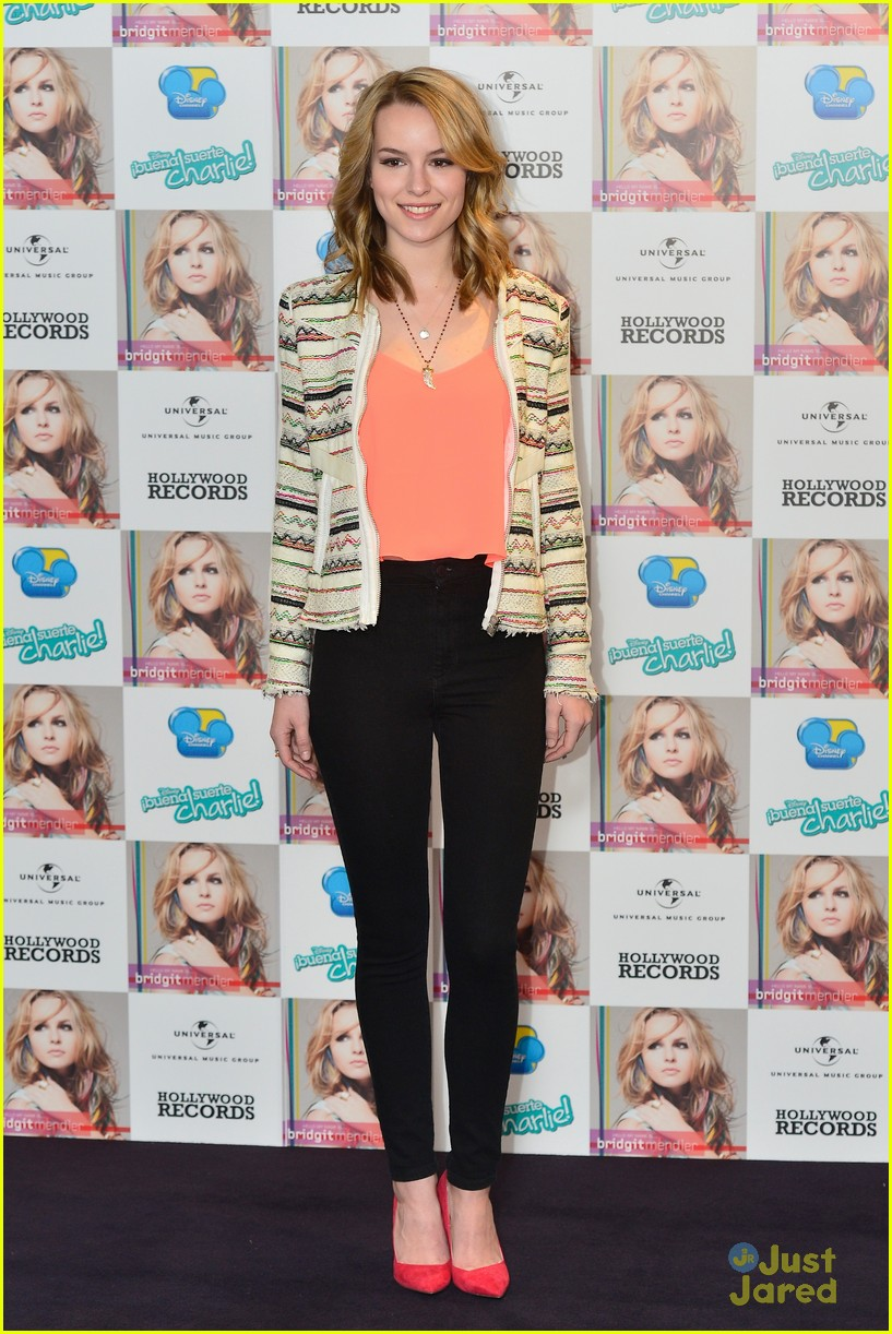 bridgit mendler madrid album photocall 03