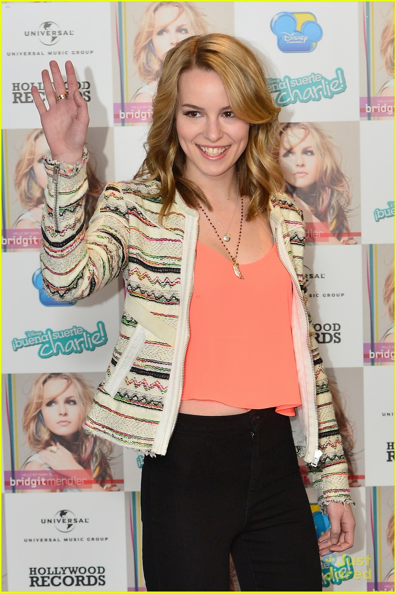 bridgit mendler madrid album photocall 07