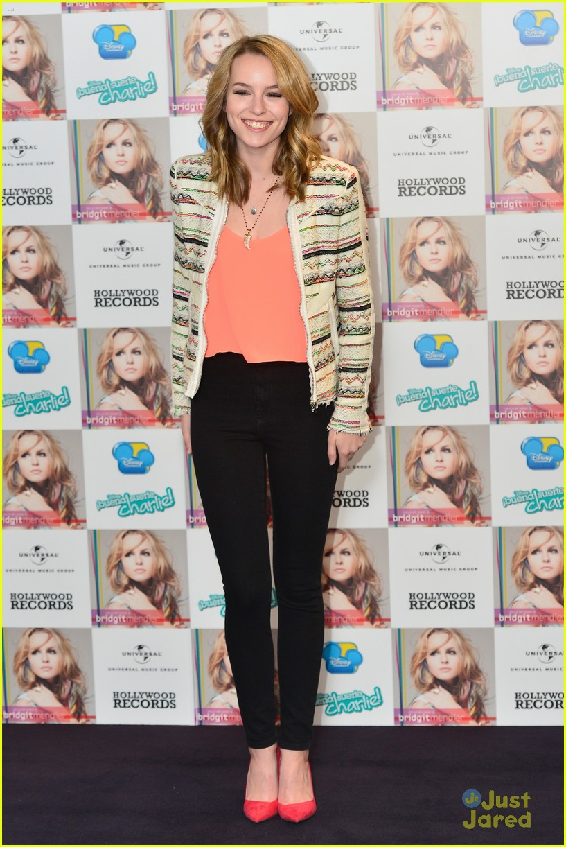 bridgit mendler madrid album photocall 13