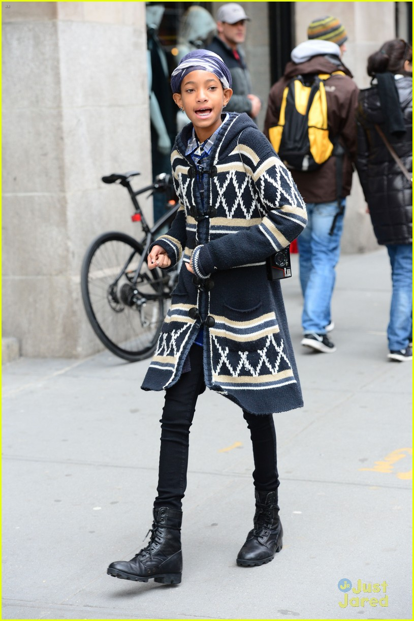 jaden willow smith nyc music video shoot 25
