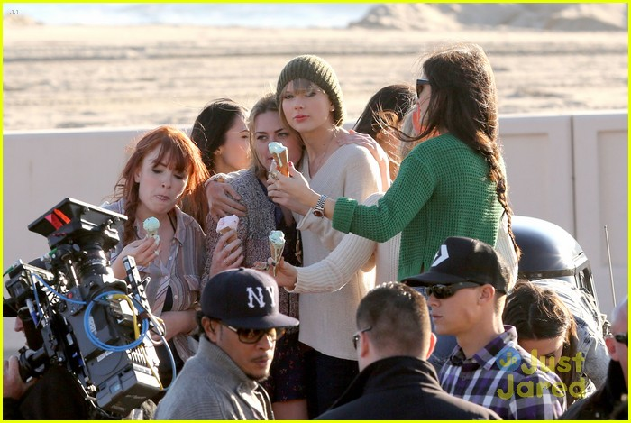 taylor swift 22 music video shoot 08