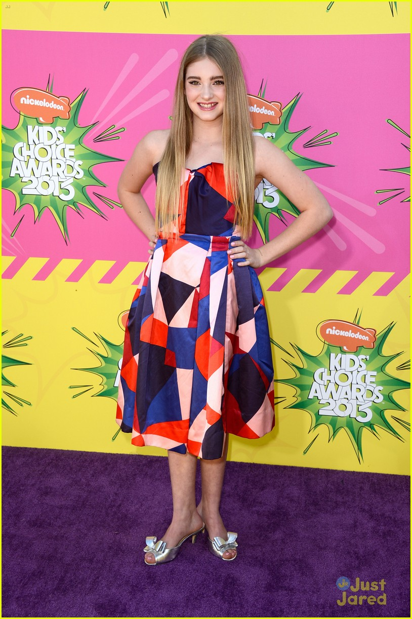 amandla stenberg willow shields kids choice awards 2013 red carpet 03