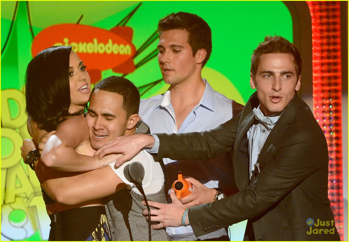 big time rush erin sanders kids choice awards 10
