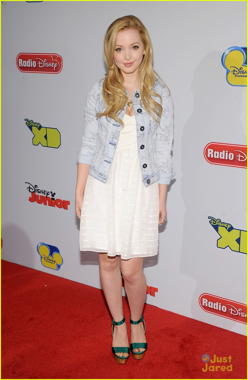 Dove Cameron: Disney Upfronts with Chloe & Halle Bailey ...