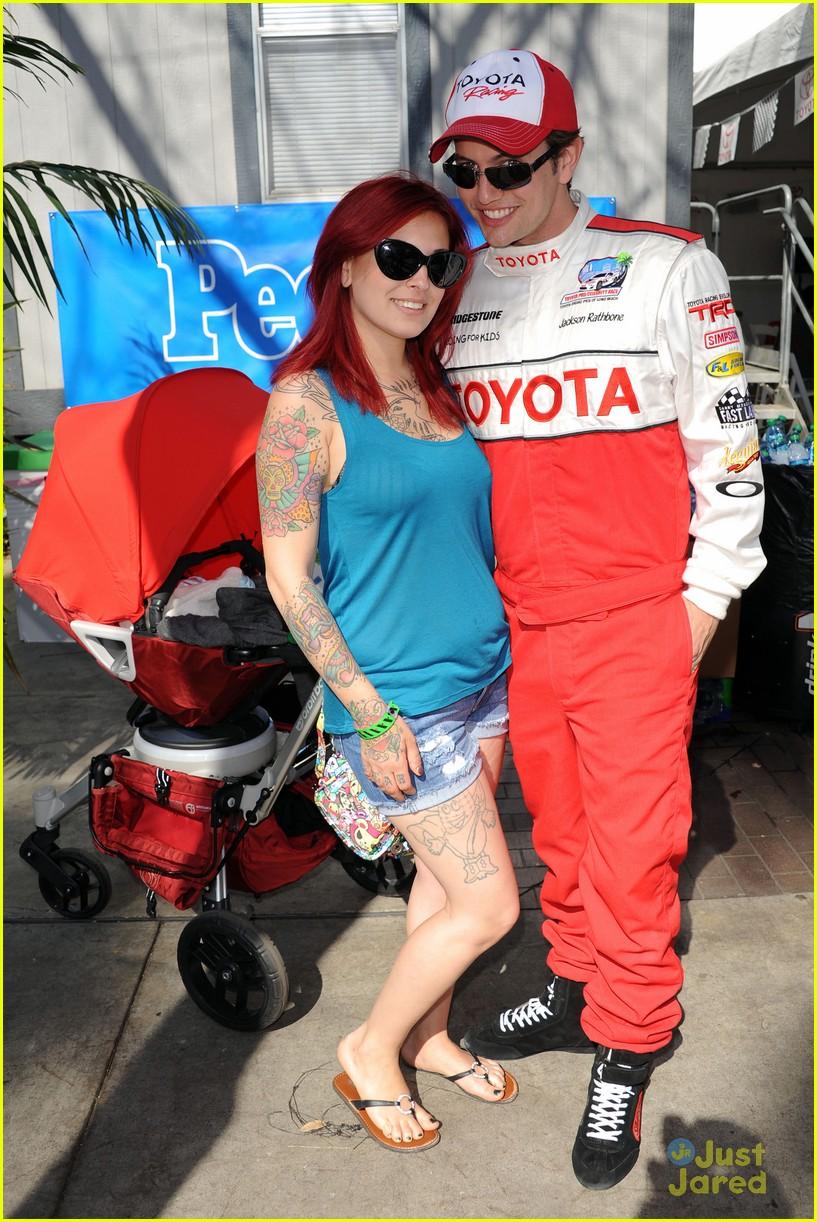 brett davern jackson rathbone toyota celebrity race 08