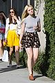 Fanning-shpsp elle fanning saturday shopping spree with mom 13