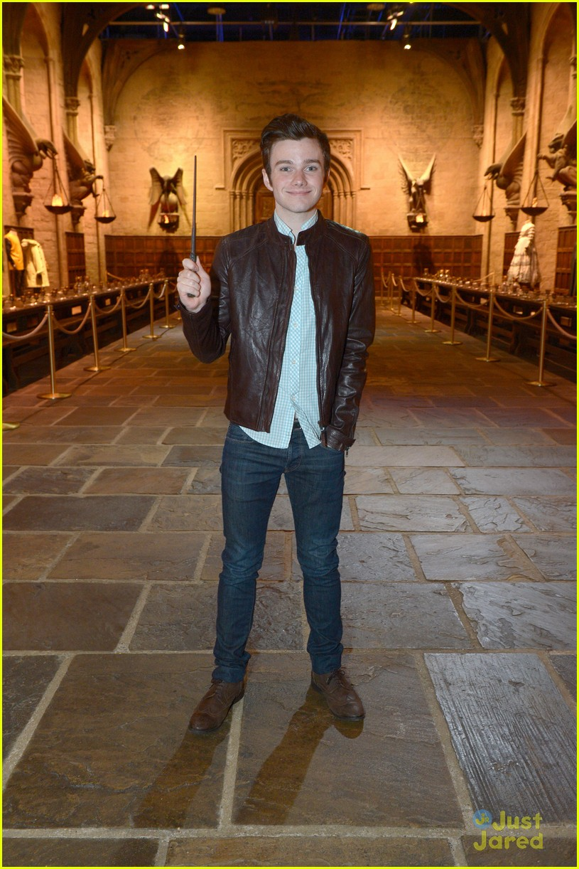 chris colfer hp studio tour london 12