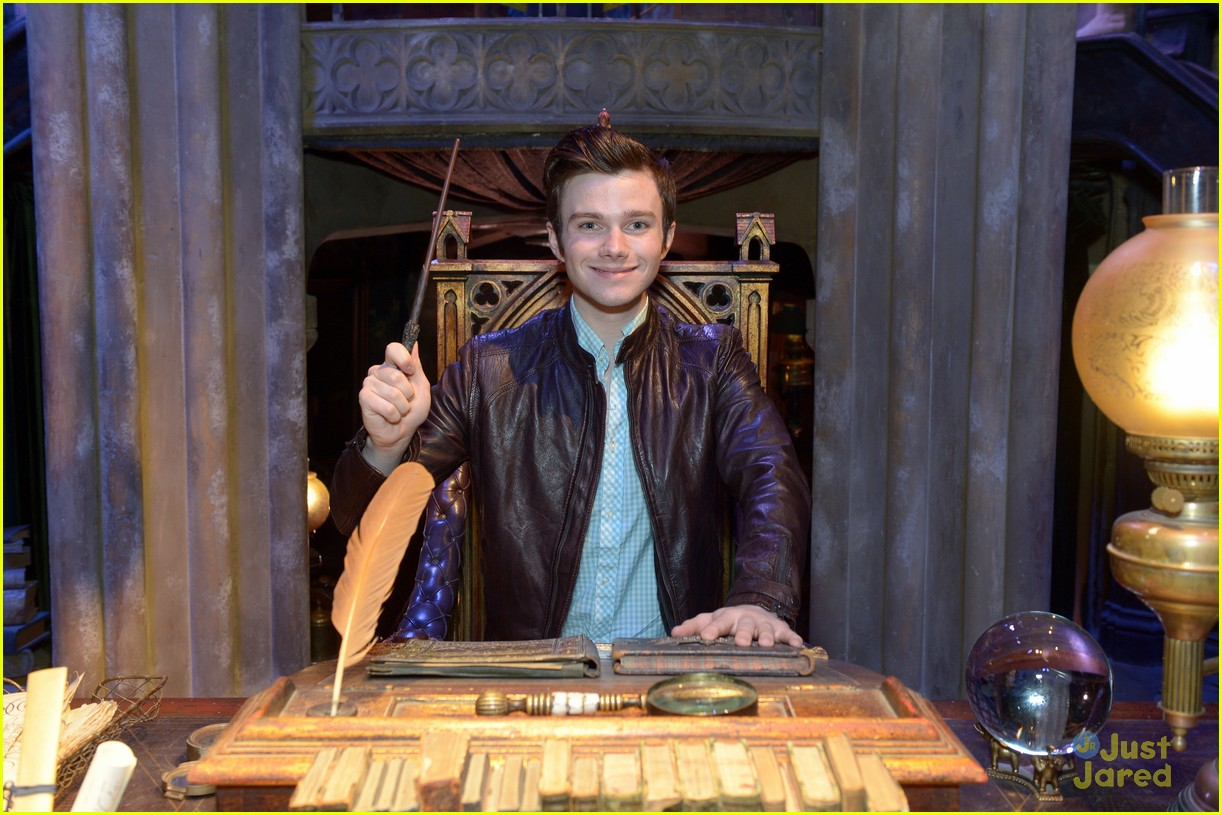 chris colfer hp studio tour london 21