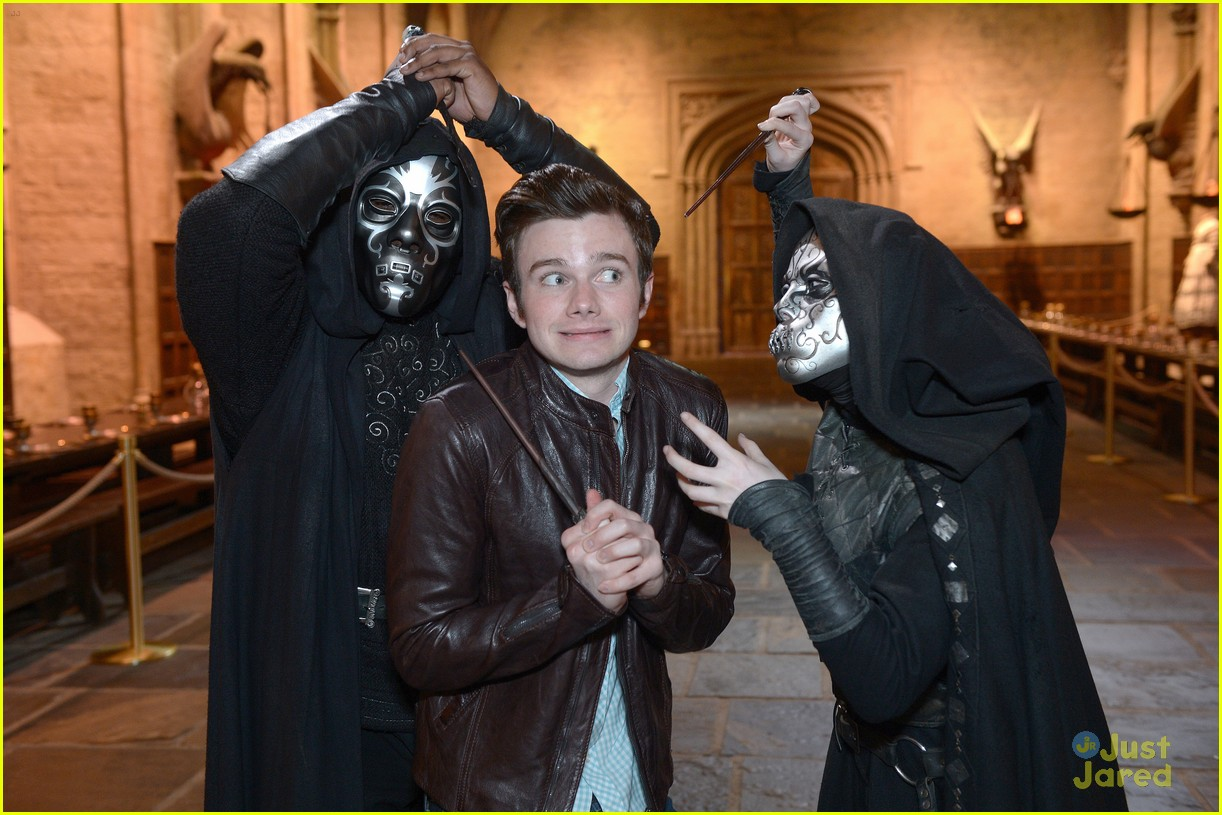chris colfer hp studio tour london 24