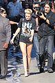 Cyrus-jklarr3 miley cyrus jimmy kimmel live arrival 2 08